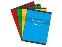 Cahier piqué Conquérant Sept Travaux Pratiques 24 x 32 cm 48 pages grands carreaux et 48 pages blanc uni