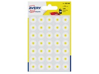 Paper eyelets Avery white - sleeve of 140