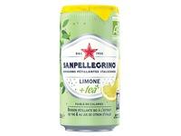 San Pellegrino citroenthee 25 cl - karton van 24 blikjes