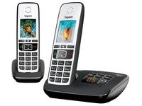 Telefoon met antwoordapparaat Siemens Gigaset A670A Duo - zwart