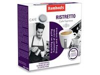 Rombouts dosettes de café pour espresso, Ristretto, paquet de 16 pièces