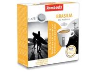 Rombouts dosettes de café pour espresso, Brasilia, paquet de 16 pièces