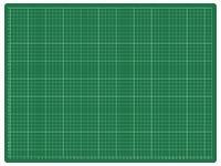 Snijmat Rillstab A2 600X450mm groen