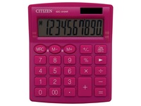 Citizen calculatrice de bureau SDC-810, rose