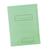 groen kartonnenmapje met etiket